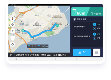 AI-generated route and automated dispatch